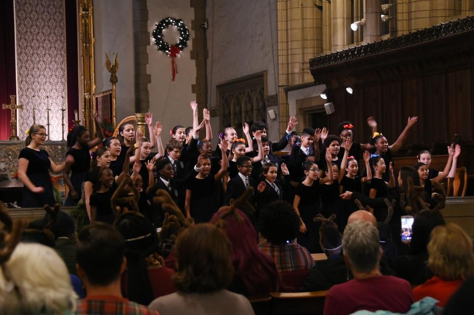 The Young People's Chorus of New York at Washington Heights