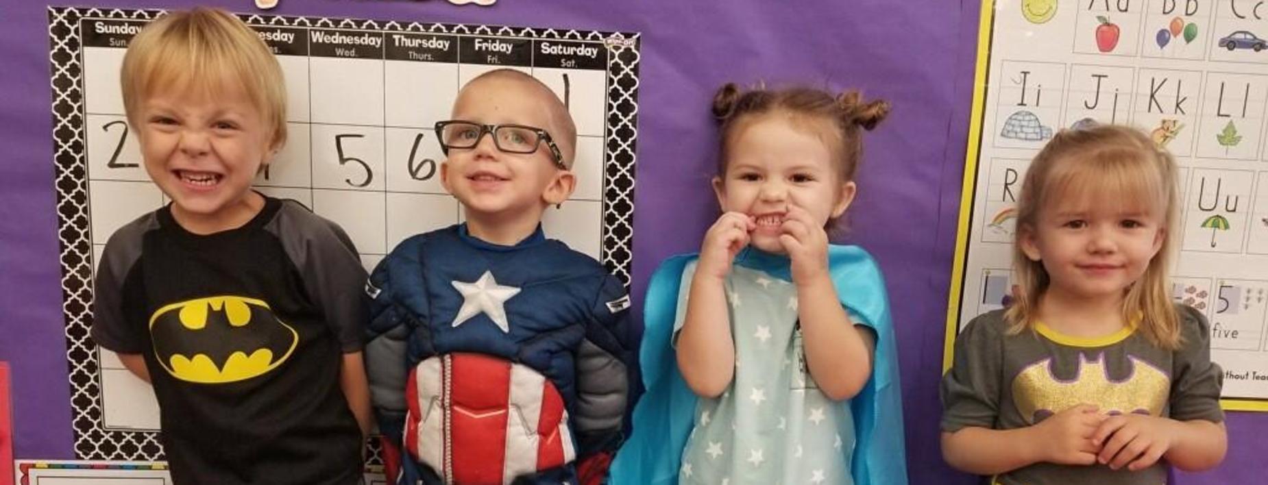 Super Heros at the ECC