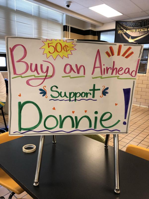Support Donnie
