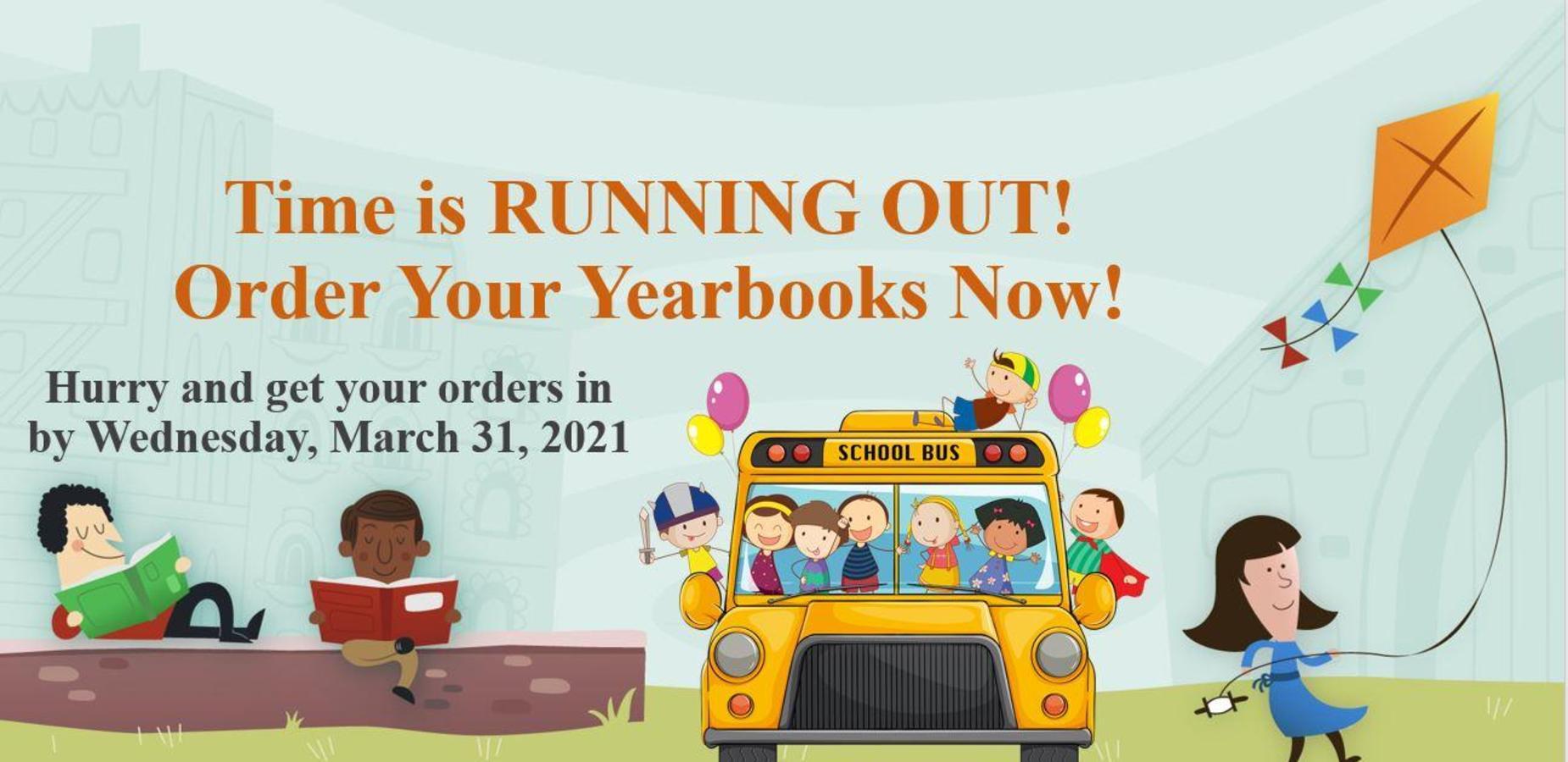 Yearbook! Yearbook! Get your yearbook!