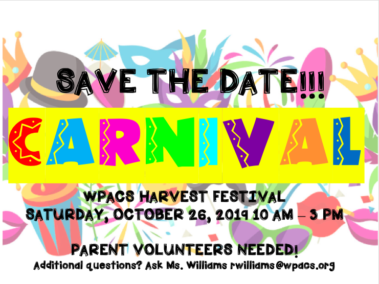 Save the Date: Harvest Festival October 26th Featured Photo