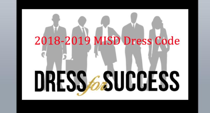 2018-19 MISD Student Dress Code Thumbnail Image