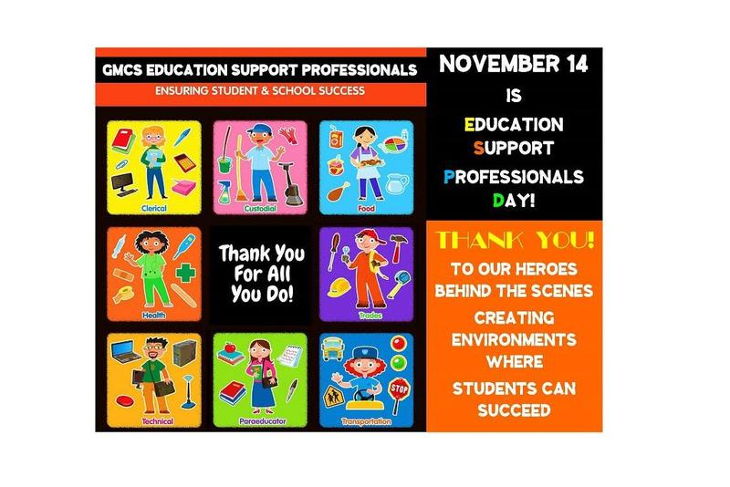 Ed support professional day