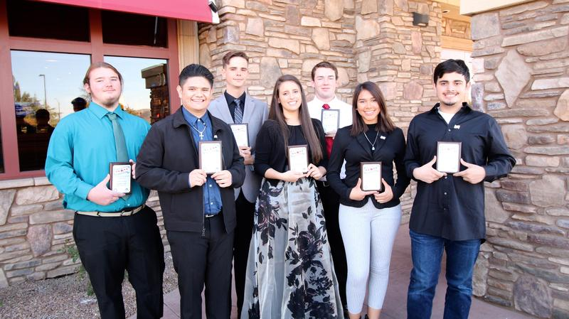 Hemet and San Jacinto November Students of the Month