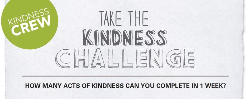 Today's Kindness Challenge: Smile at a stranger!  Even better, say hello AND smile! Featured Photo