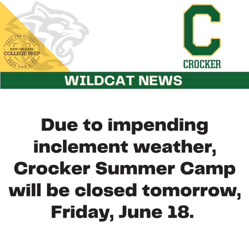 Crocker Summer Camp Update for 6/18/2021 Featured Photo