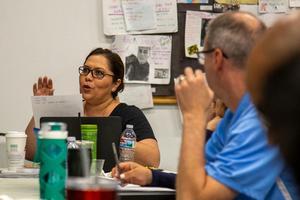 Downtown Value educator Ana Villanueva