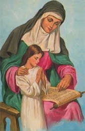 Happy Feast of St. Anne! Thumbnail Image