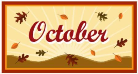 October Dates to Remember Featured Photo