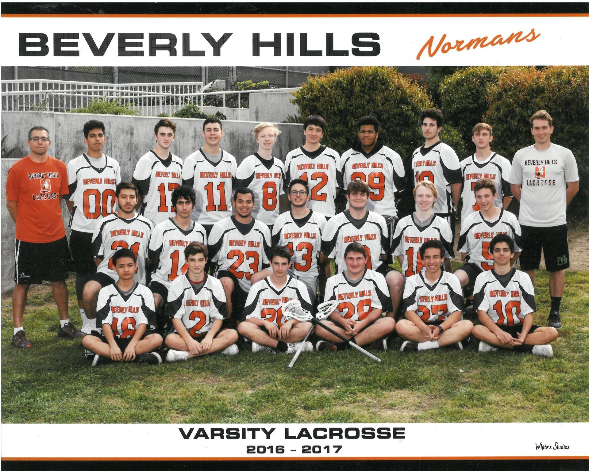 2017 Varsity Lacrosse