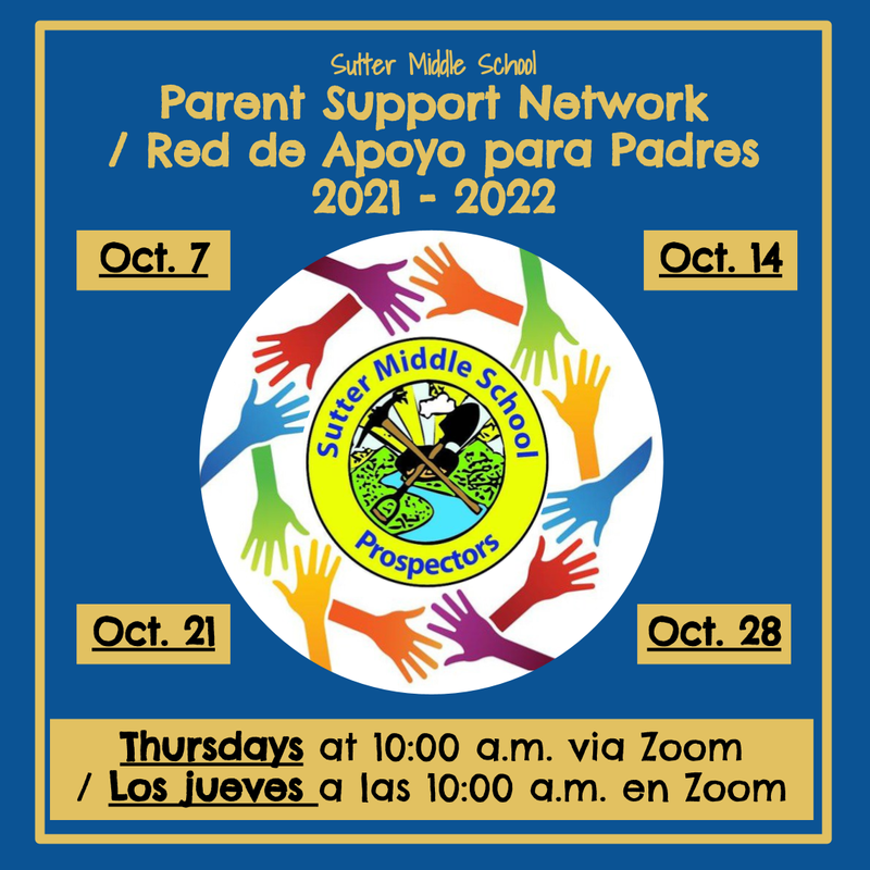 NEW - Parent Support Network / NUEVO - Red de apoyo para padres Featured Photo