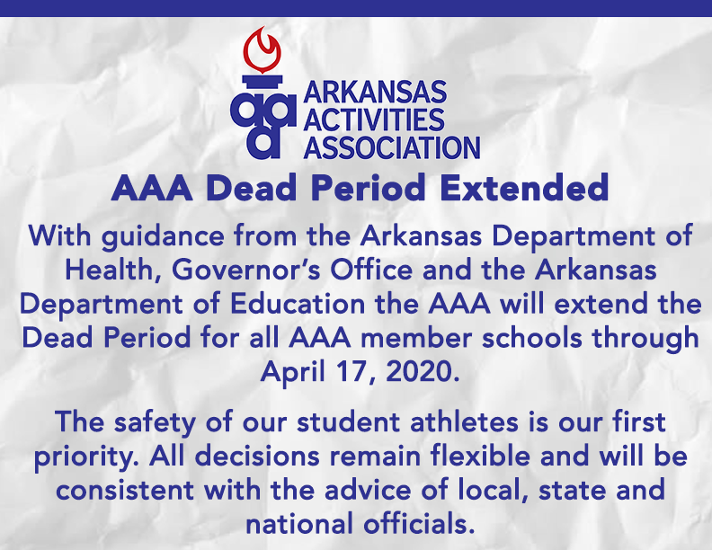 AAA Dead Period announcement