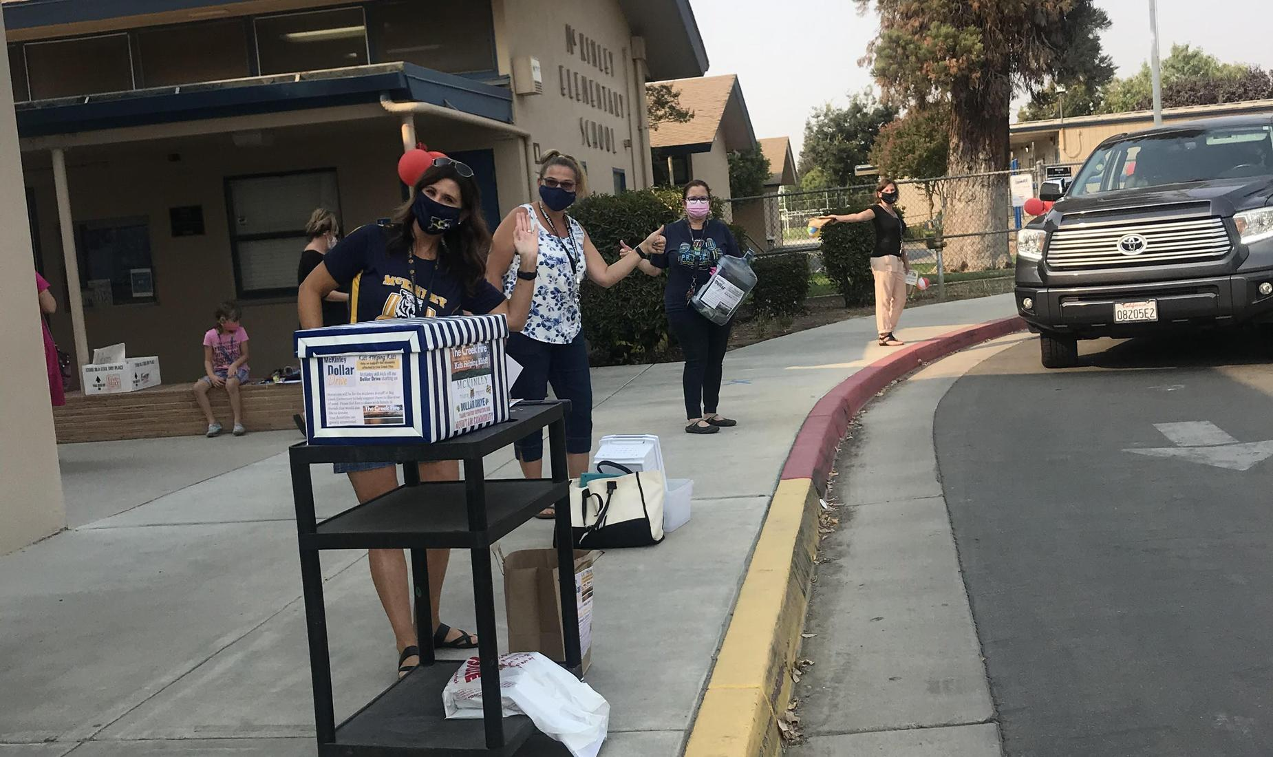McKinley Staff Raising Funds for Creek Fire Victims