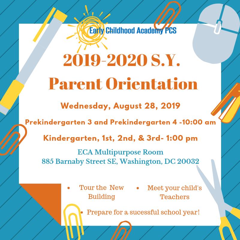 Parent Orientation, August 28, 2019 Featured Photo