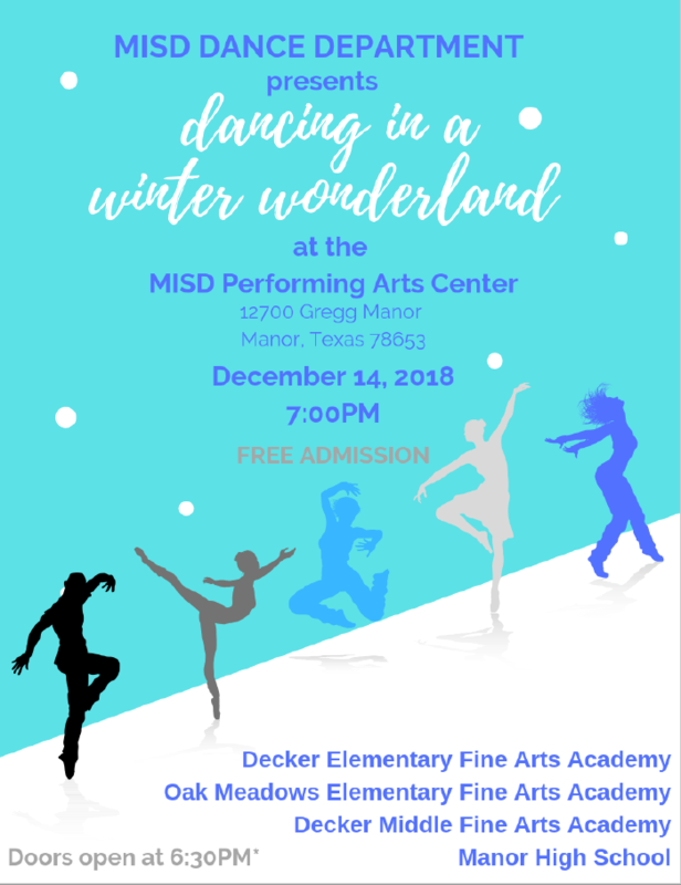 District Wide Holiday Dance Show Thumbnail Image