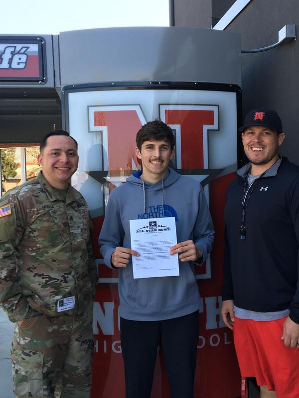 Alejandro Marquez will represent North at the U.S. Army All-Star Bowl Thumbnail Image