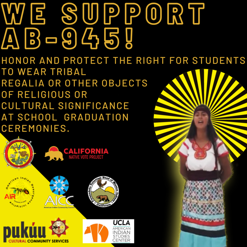 The Indigenous Education NOW Coalition Supports AB-945! Featured Photo