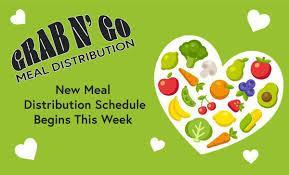 Meal Distribution Update for Virtual Learners in District 7 and March Menu Featured Photo