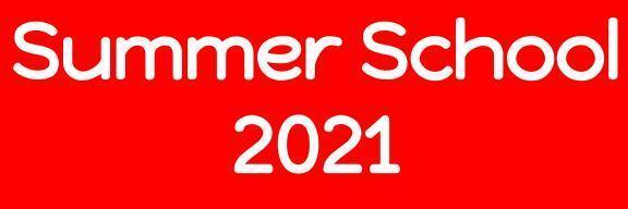 Summer School 2021 Information Featured Photo