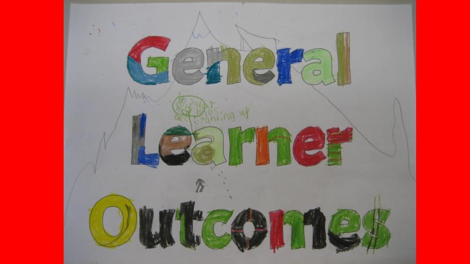 General Learner Outcomes