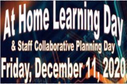 At-Home learning Day