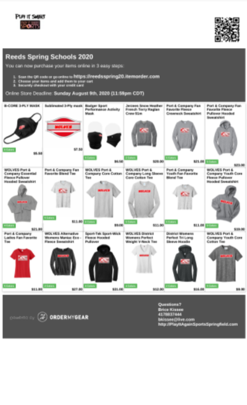 flyer for online store
