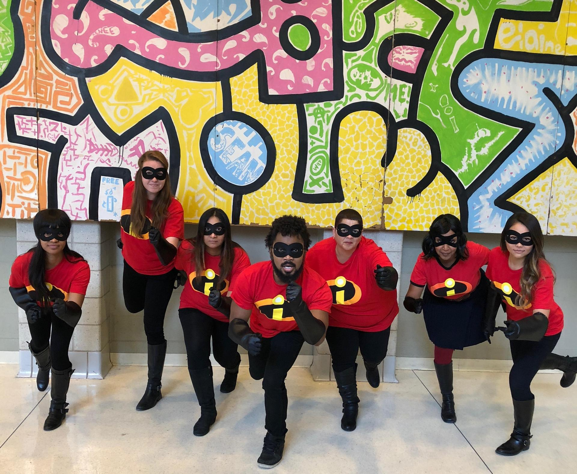 """Incredibles"" Team Photo"