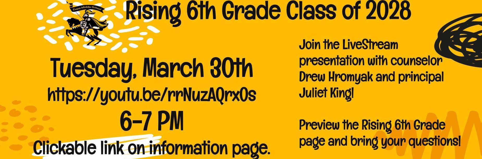 rising 6th grade ems