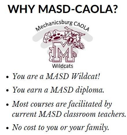 Reasons to enroll in CAOLA over commercial Cyber schools