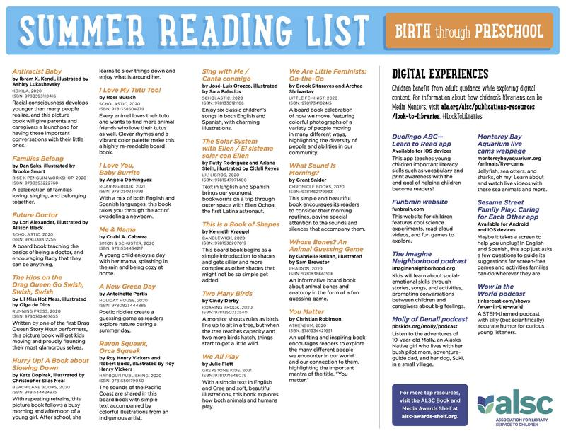 Mercedes ISD District Reading Summer Lists   Birth to 8th Grade Featured Photo