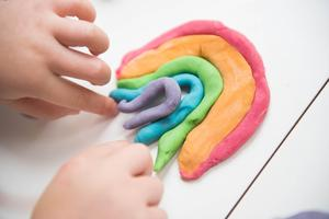 Making Aromatherapy Dough Featured Photo