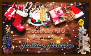 Holiday Hotcakes at Coy Dec 7