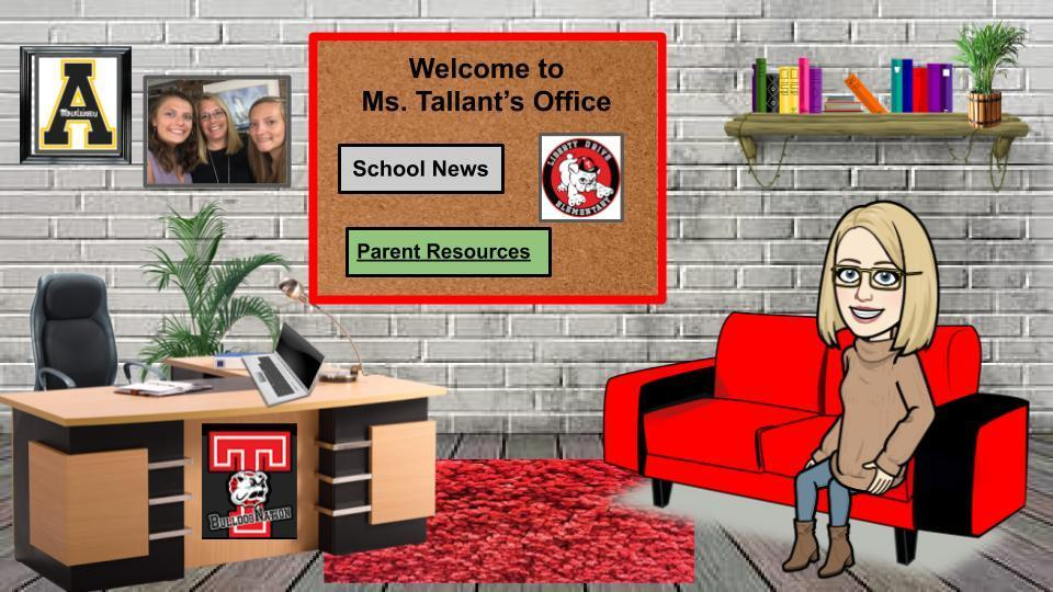 Ms. Tallant's Virtual Office