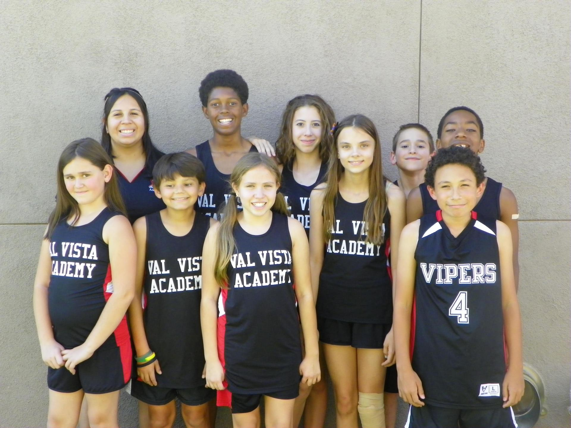 2017 Vipers Cross Country