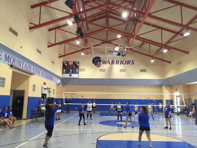 Girls volleyball spikes their way to victory