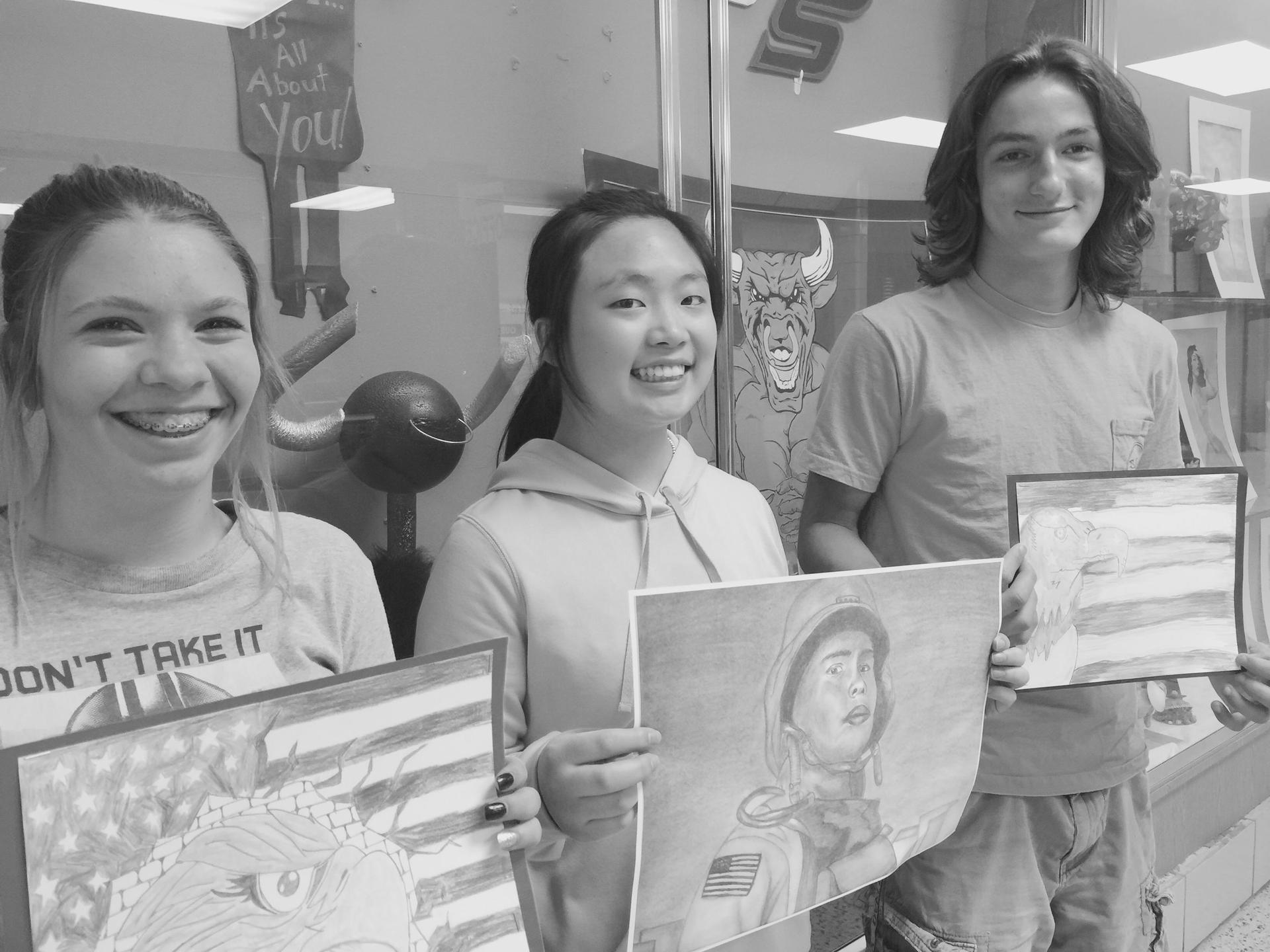 Outstanding Art Students