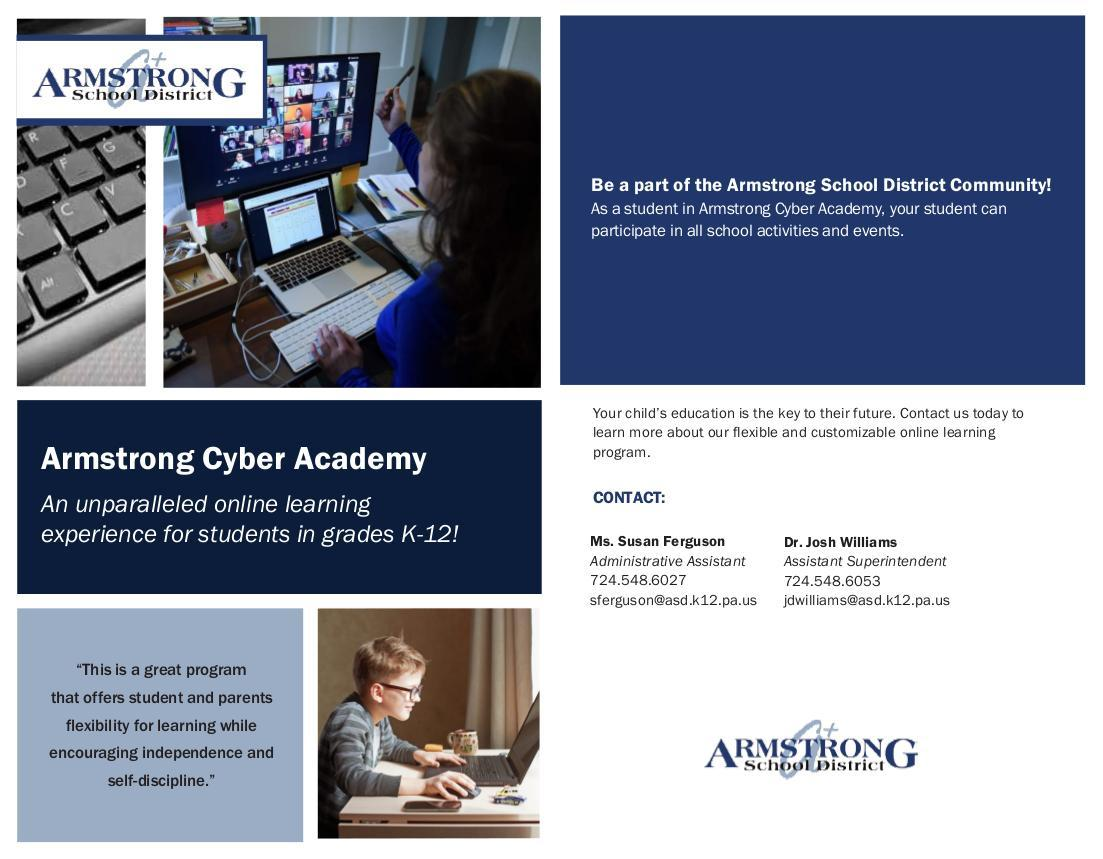 Armstrong Cyber Academy - Page 1