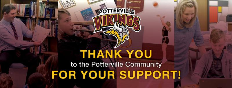 Thank you to the Potterville community!! Featured Photo