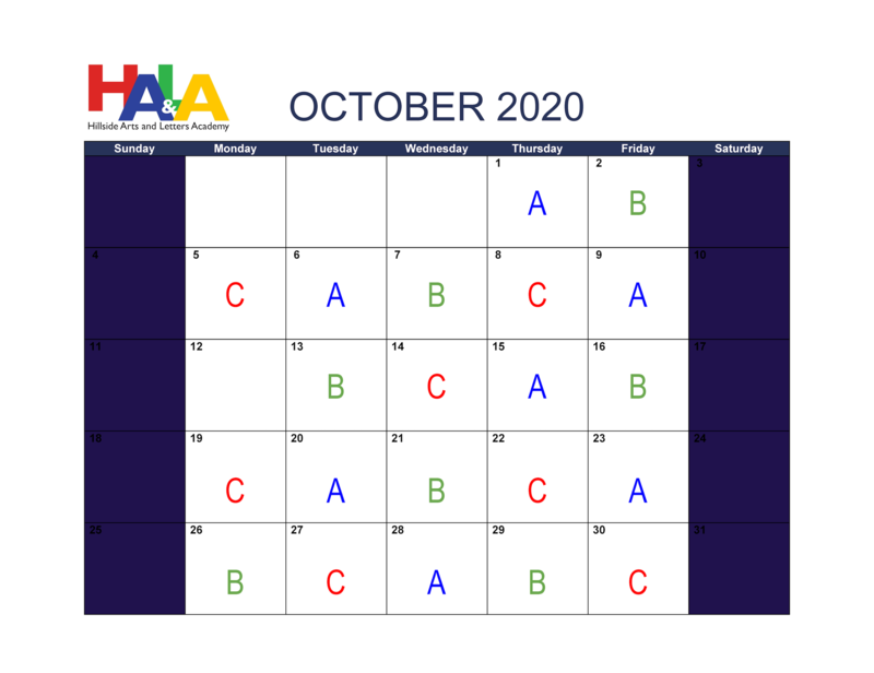October Calendar Featured Photo