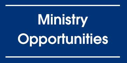 Ministry Opportunities