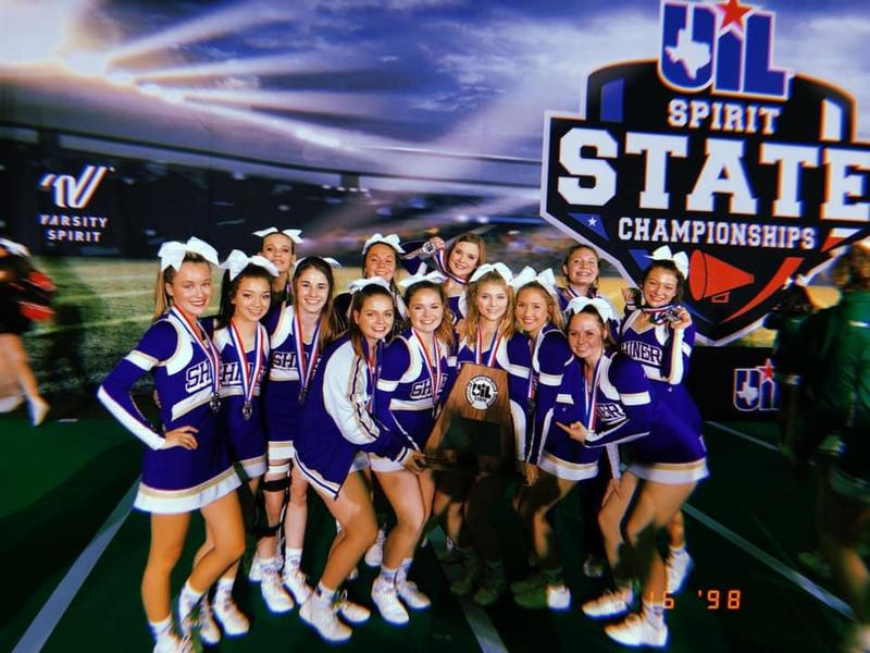 Comanche Cheer Wins Silver