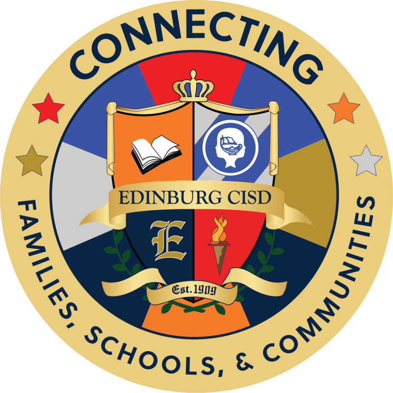 Edinburg CISD Connecting Families, Schools, and Communities logo