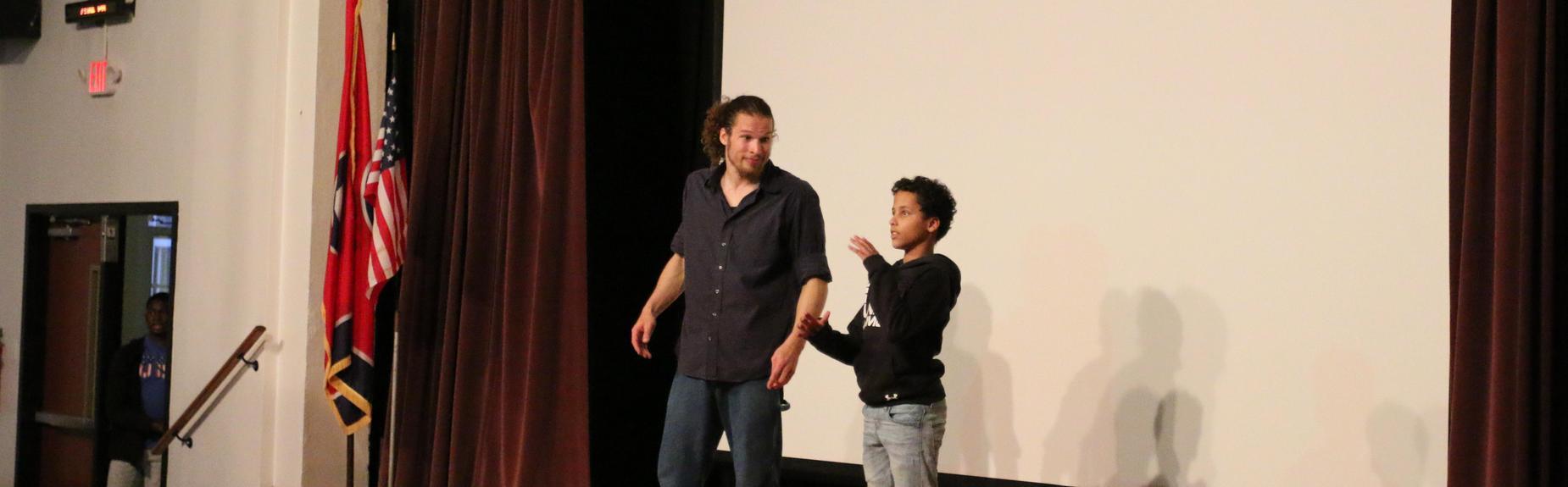 TSD Knoxville ASL Storytelling with Dack Virnig