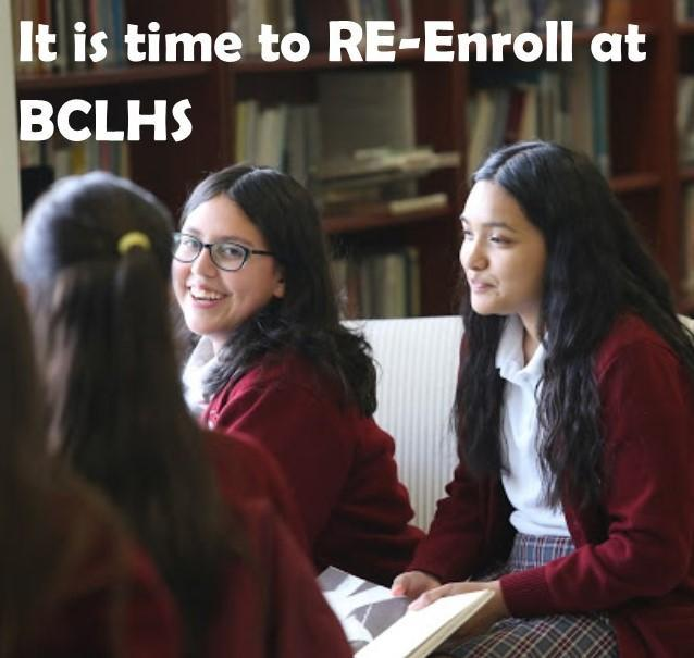 Re-enrollment for 2020-2021 is Now Open Featured Photo