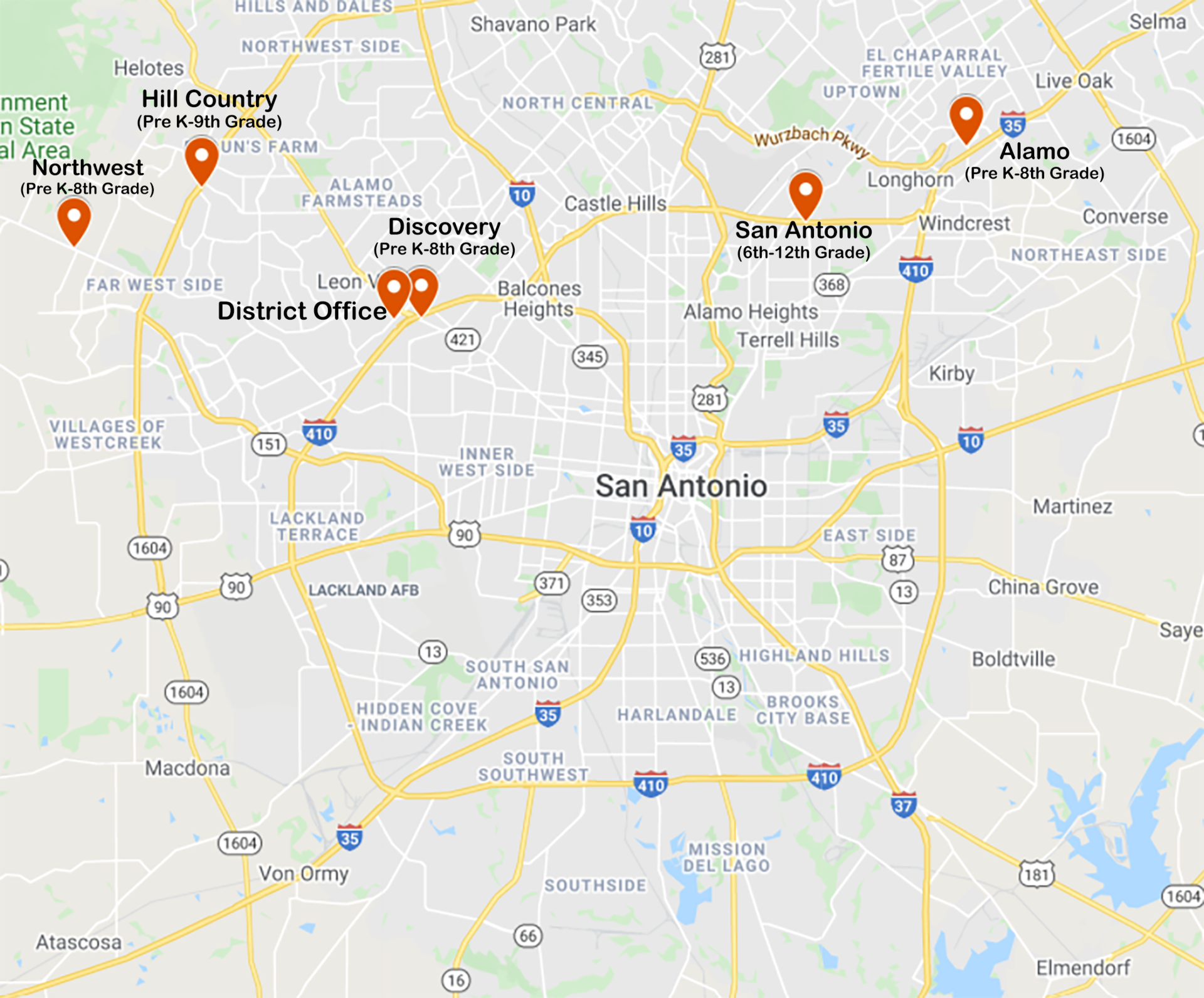 SST schools in San Antonio Area