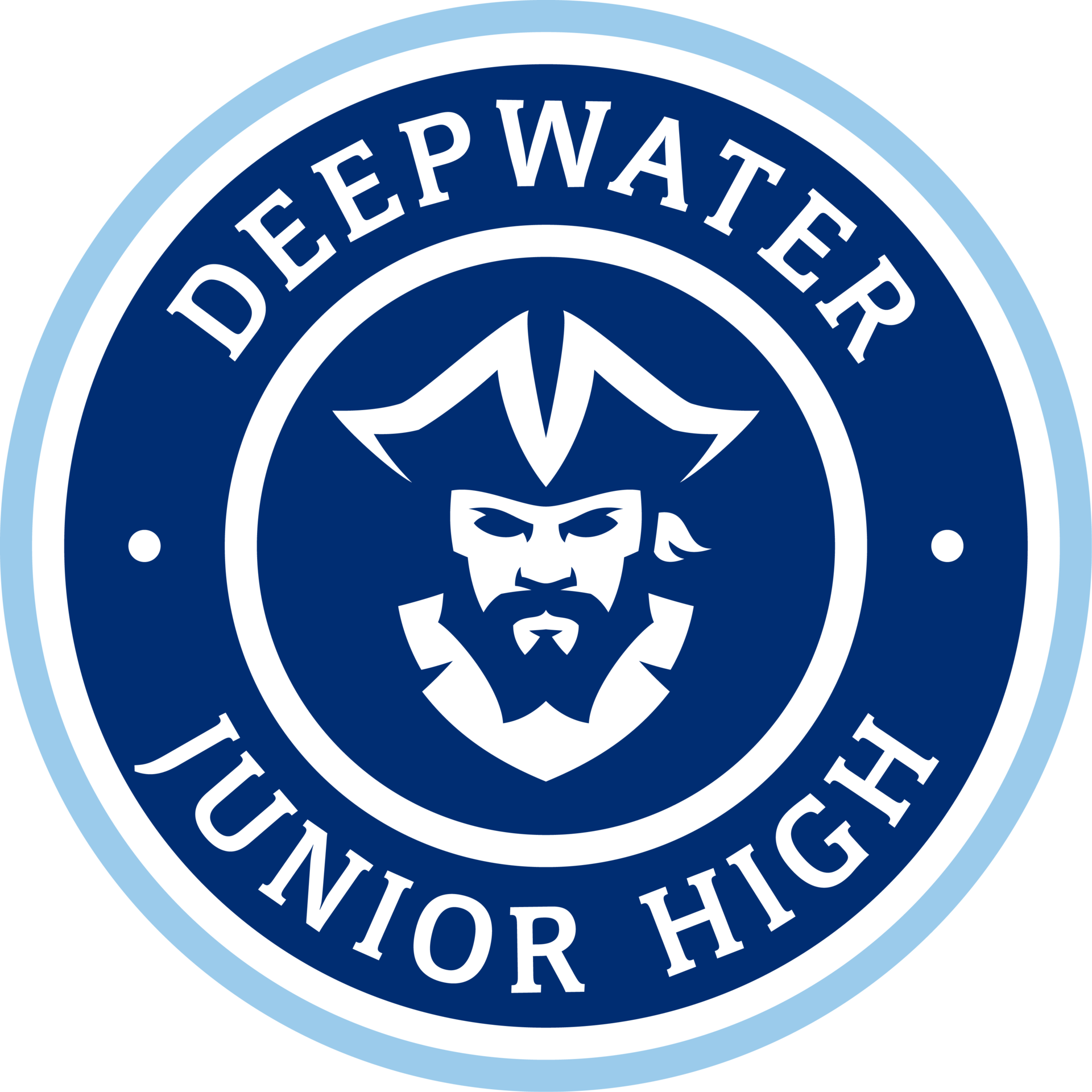 Deepwater Junior High school seal