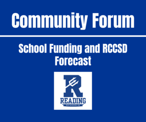 Community Forum School Funding and RCCSD Forecast