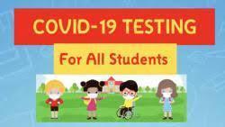 COVID Testing for All Students. Schedule your test today/Prueba COVID para todos los estudiantes. Programe su prueba hoy Thumbnail Image