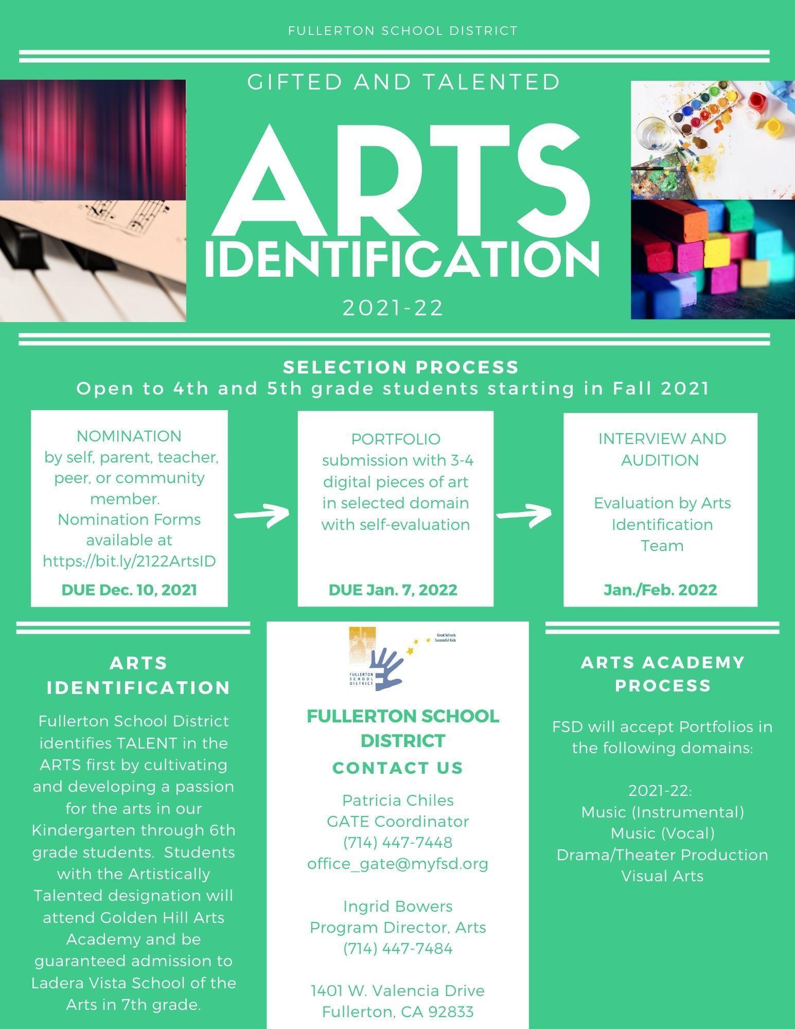 Arts ID flyer