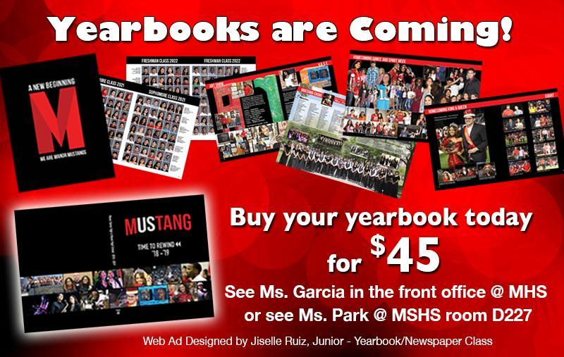 Order the MHS, MSHS Yearbook Today! Thumbnail Image
